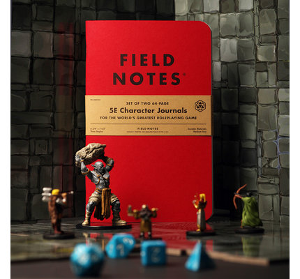 Field Notes Field Notes Limited Edition 5E Character Journal - 2 PK (Designed Specially for Dungeons and Dragons)