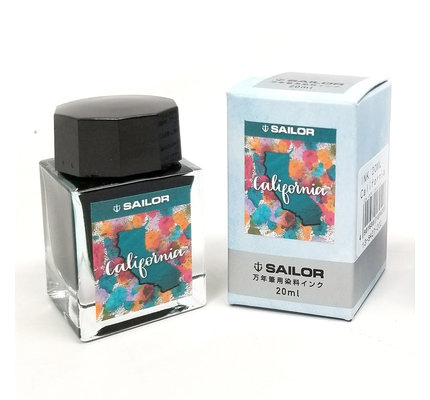 Sailor Sailor USA 50 States Ink Series - California 20ml Bottled Ink