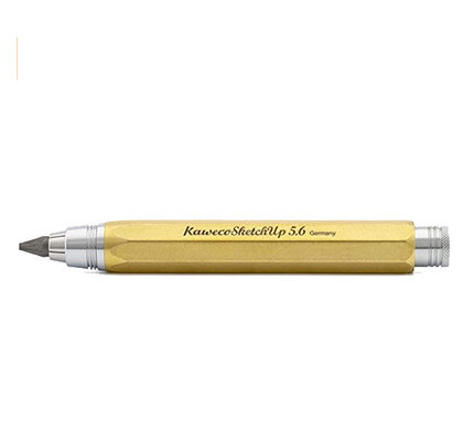 Kaweco Kaweco Sketch Up Clutch Lead Holder - 5.6 mm - Brass