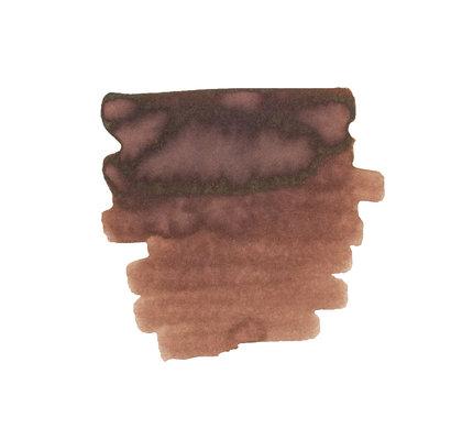 Diamine Diamine Ink Cartridge Saddle Brown - Set of 18