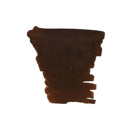 Diamine Diamine Ink Cartridge Chocolate Brown - Set of 18