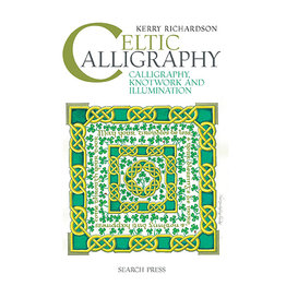 Books Celtic Calligraphy Book by Kerry Richardson