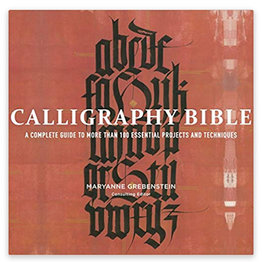 Books Calligraphy Bible Book By Maryanne Grebenstein