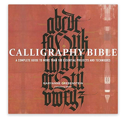 Calligraphy Bible Book By Maryanne Grebenstein