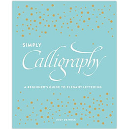 Books Simply Calligraphy by Judy Detrick