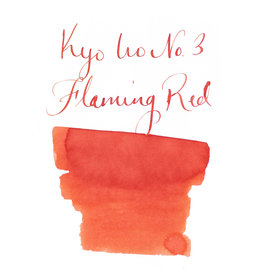 Kyoto TAG Kyoto TAG Kyo-Iro Flaming Red - 40ml Bottled Ink