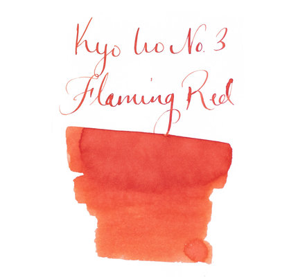 Kyoto TAG Kyoto TAG Kyo-Iro Flaming Red - 40ml Bottled Ink
