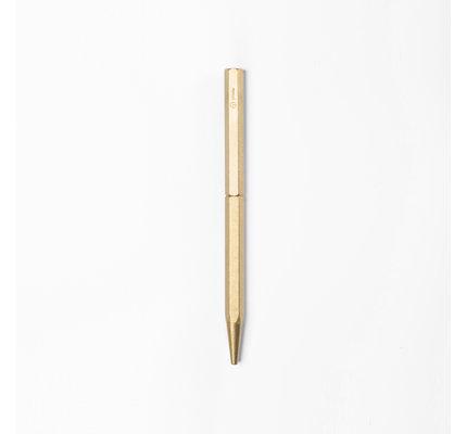 ystudio ystudio Classic Brass Slim Ballpoint Pen