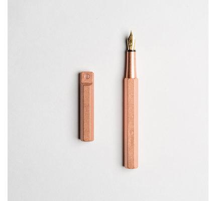 ystudio ystudio Classic Copper Brass Desk Fountain Pen