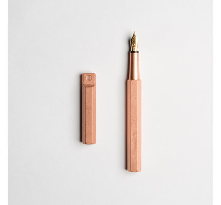 ystudio ystudio Classic Copper Portable Fountain Pen