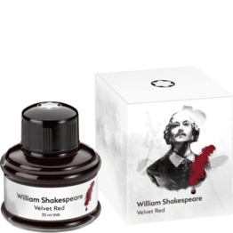 Montblanc Montblanc Limited Edition Shakespeare Velvet Red - 35ml Bottled Ink