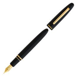 Esterbrook Esterbrook Estie Ebony Fountain Pen with Gold Trim