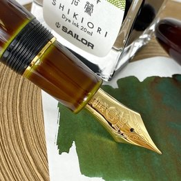 Sailor Sailor Jentle Tokiwa-Matsu Pine (Colors Of Four Seasons) - 20ml Bottled Ink