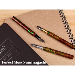 Schon DSGN Schon DSGN Pocket Six Fountain Pen Forrest Moss