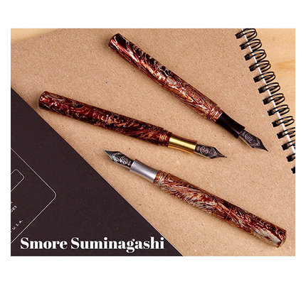 Schon DSGN Schon DSGN Pocket Six Fountain Pen S'more Suminagashi