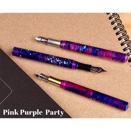 Schon DSGN Schon DSGN Pocket Six Fountain Pen Pink Purple Party
