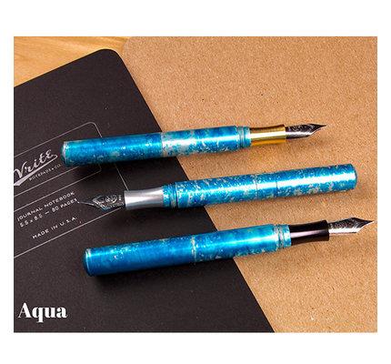 Schon DSGN Schon DSGN Pocket Six Fountain Pen Aqua