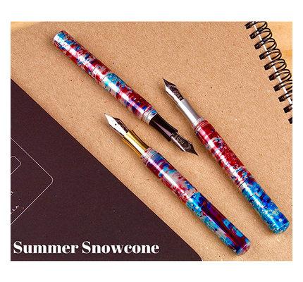 Schon DSGN Schon DSGN Pocket Six Fountain Pen Summer Snow Cone