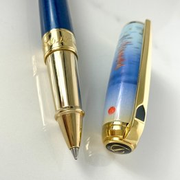 S. T. Dupont Pre-Owned S. T. Dupont Line D Claude Monet Rollerball Pen