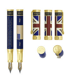 David Oscarson David Oscarson Magna Carta Blue Fountain Pen