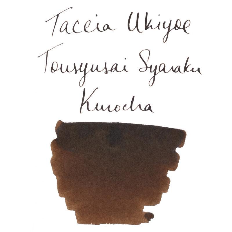 Taccia Taccia Ukiyo-e Sharaku-Kurocha (Dark Brown) Bottled Ink
