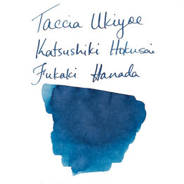 Taccia Taccia Ukiyo-e Hokusai-Fukakihanda (Light Blue) Bottled Ink
