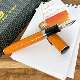 Wahl-Eversharp Wahl-Eversharp Decoband Pensbury Gatsby Red and Silver Superflex Fountain Pen