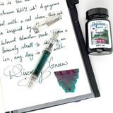 KWZ Ink KWZ Dromgoole's Exclusive Discovery Green - 60ml Bottled Ink