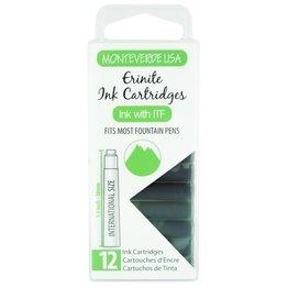 Monteverde Monteverde Ink Cartridges Erinite - Set of 12