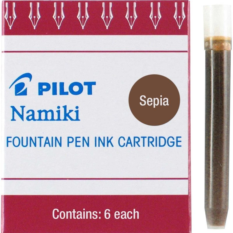 Pilot Pilot Ink Cartridges Sepia
