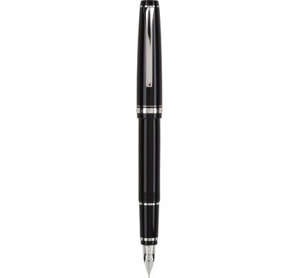 Pilot Pilot Falcon Fountain Pen Black and Rhodium