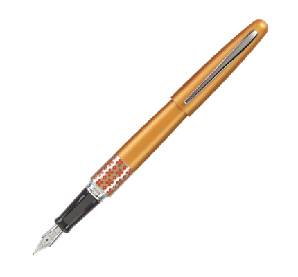 Pilot Pilot Metropolitan Retro Pop Collection Fountain Pen Orange