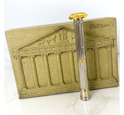 Pelikan Pre-Owned Pelikan Limited Edition 7 Wonders Of The World Temple Of Artemis Fountain Pen