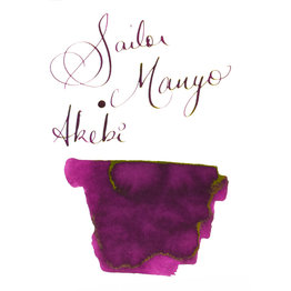 Sailor Sailor Manyo Akebi - 50ml Bottled Ink