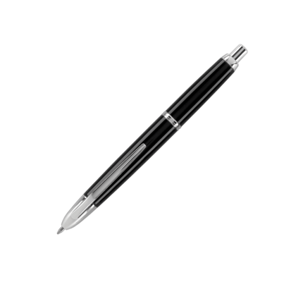 Pilot Pilot Vanishing Point Black Fountain Pen with Rhodium Trim