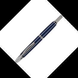 Pilot Pilot Vanishing Point Fountain Pen with Rhodium Trim Blue