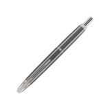 Pilot Pilot Vanishing Point Gun Metal Fountain Pen with Rhodium Trim