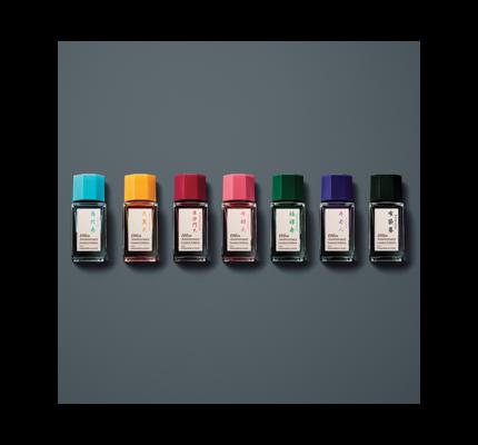 Pilot Pilot Iroshizuku 100th Anniversary Bottled Ink 7 Mini Bottle Set