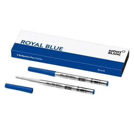 Montblanc Montblanc Ballpoint Refill Royal Blue 2 Pack
