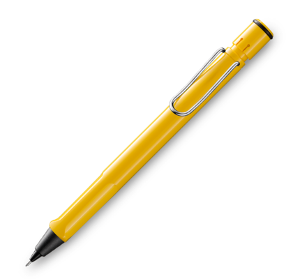 Lamy Lamy Safari Yellow Mechanical Pencil .5mm