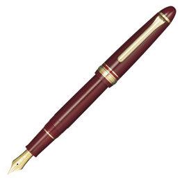 Sailor Sailor 1911 Standard Maroon Fountain Pen 14K Gold Nib with Gold Plating
