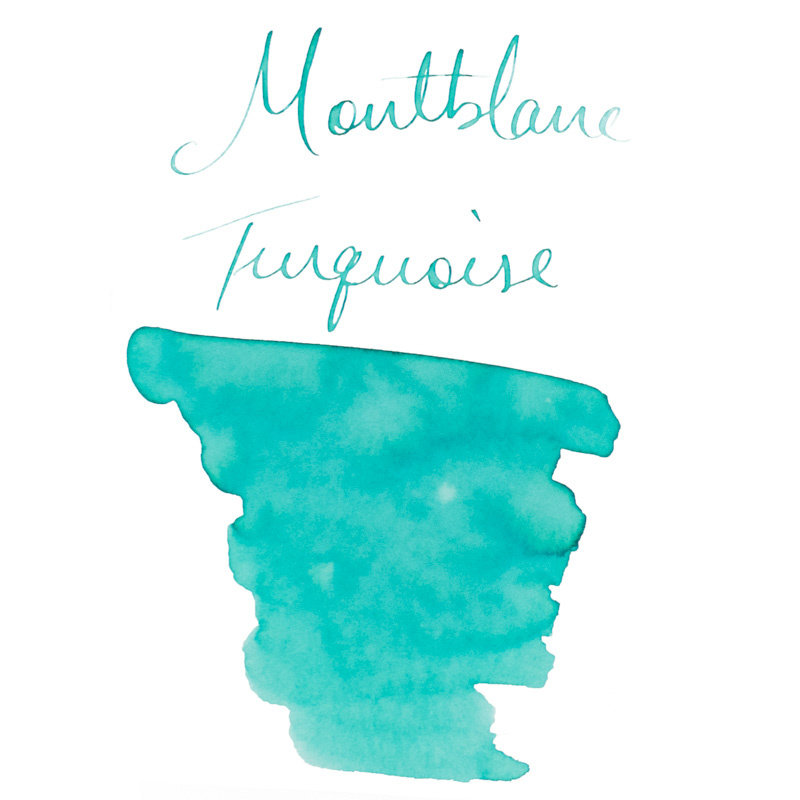 Montblanc Montblanc Blue Palette Turquoise - 30ml Bottled Ink