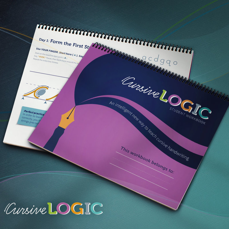 CursiveLogic Student Workbook Cursive Level 1
