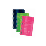 Clairefontaine Clairfontaine Wirebound Notebook Ruled 50pgs 3X4