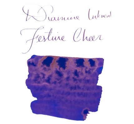 Diamine Diamine Blue Edition Sheening Festive Cheer - 50ml Bottled Ink