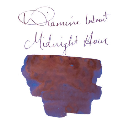 Diamine Diamine Blue Edition Sheening Midnight Hour - 50ml Bottled Ink