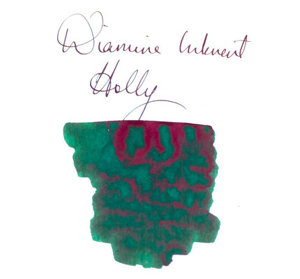 Diamine Diamine Blue Edition Sheening Holly - 50ml Bottled Ink
