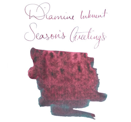 Diamine Diamine Blue Edition Sheening Season's Greetings - 50ml Bottled Ink