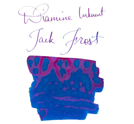 Diamine Diamine Blue Edition Shimmering Jack Frost - 50ml Bottled Ink