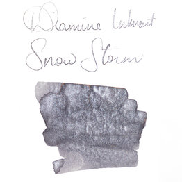 Diamine Diamine Blue Edition Shimmering Snow Storm - 50ml Bottled Ink